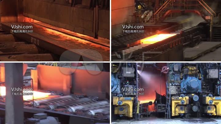 震撼钢铁生产