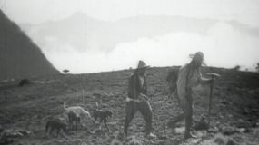 外国探险家在中国历史镜头