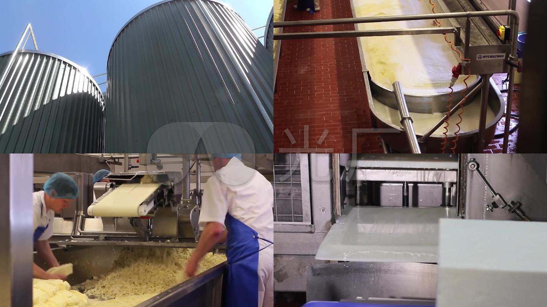 奶制品生产线