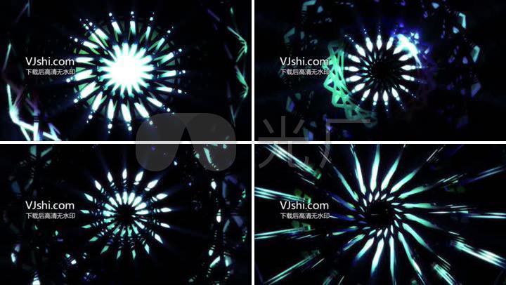 酒吧夜场演艺舞台灯光秀背景LED
