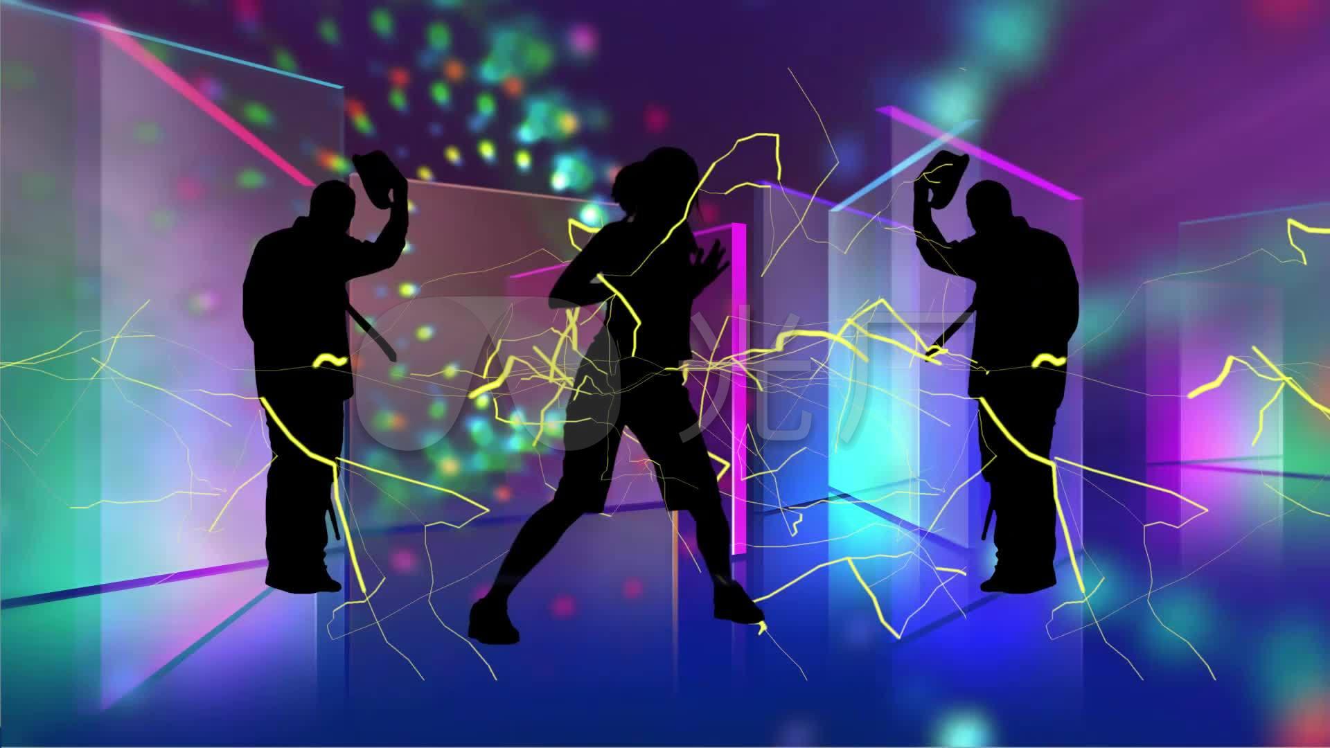 教学高清seve舞蹈舞台_1920X1080_背景动感三分视频图片