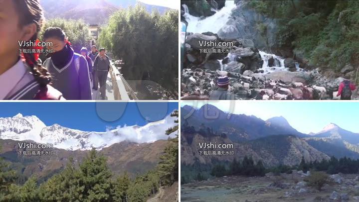 尼泊尔旅游宣传