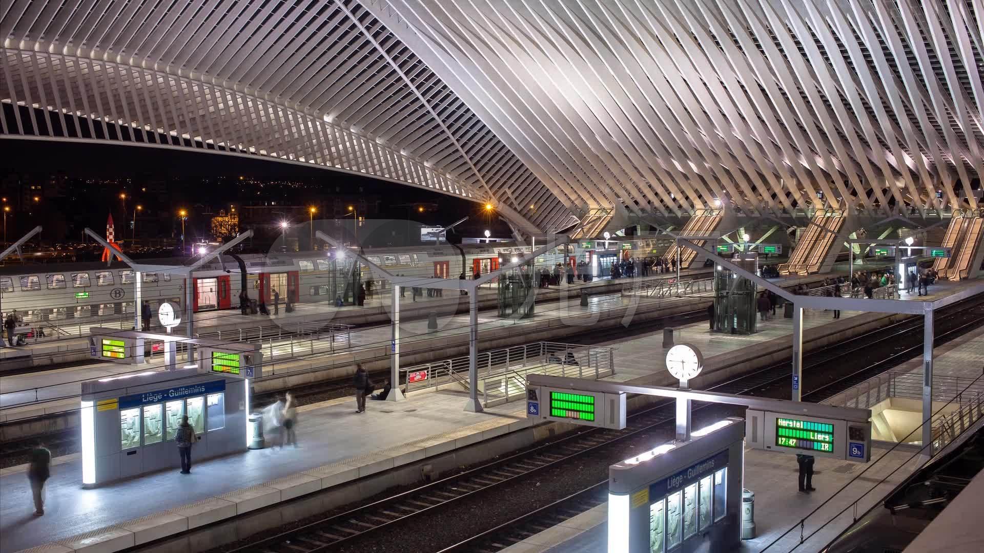 火车站素材高清火车视频_1920X1080_视频视恋免费视频夜图片