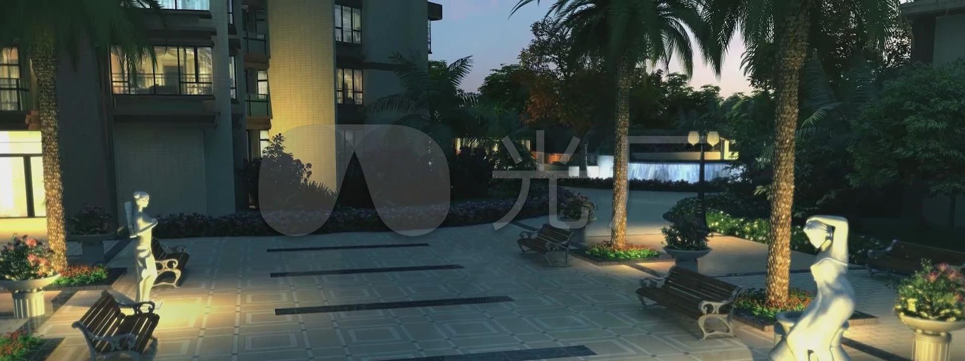 动画水吧游泳池停车场3d建筑漫游公司大厅_1休闲水景装修设计小区图片