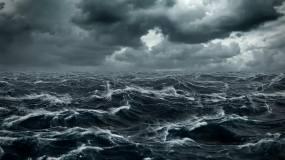 海浪 大海 海面 波涛汹涌 海面 暴风雨 暴风 雨 台风 抗台 海水 海洋