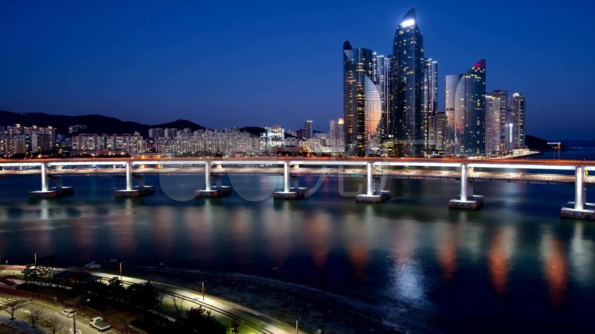 韩国釜山米拉克海滨视频延时v视频8872_1920lte公园图片