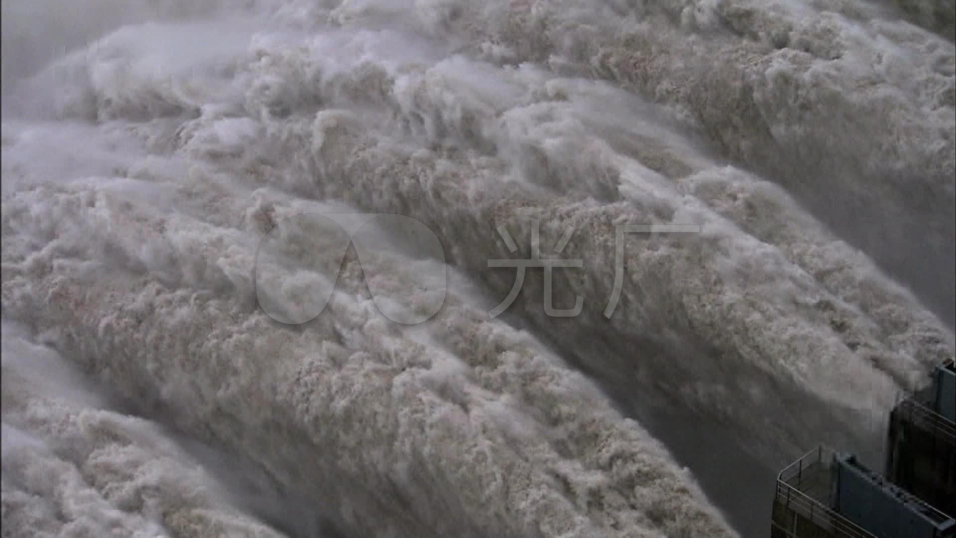 长江三峡大坝泄洪水力发电站皮筋_1920X108视频v皮筋水坝图片