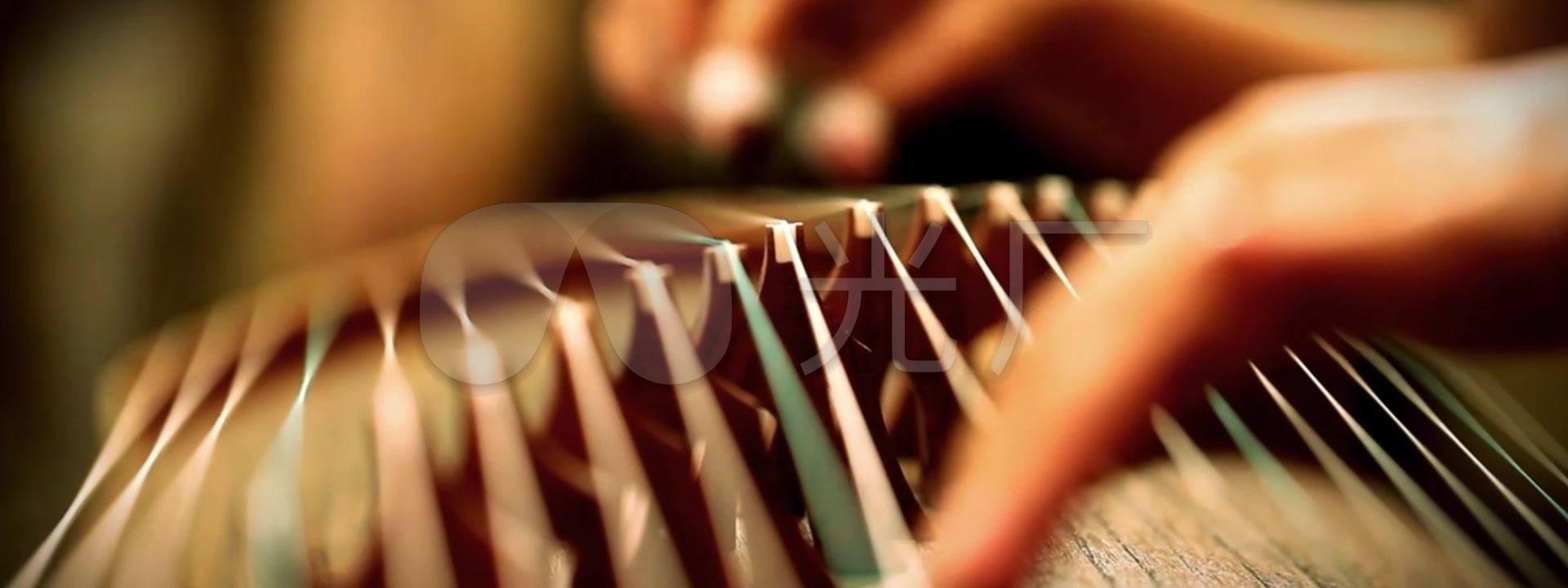 中国风弹奏特写唯美古筝_1920X720_视频高清钻微5.0视频教学