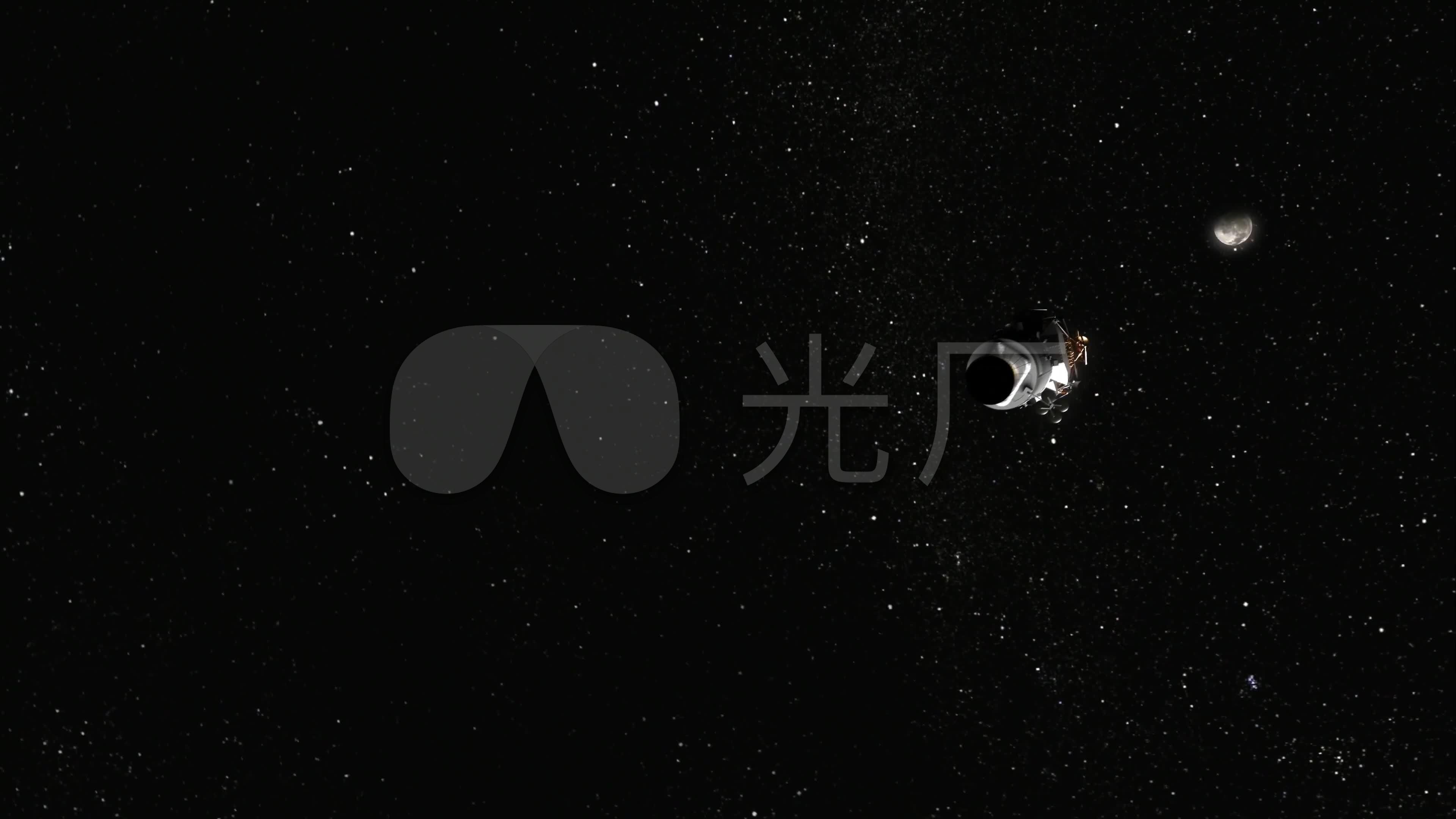 4k宇宙空间太空星球行星航天飞机火箭卫星_3840x2160