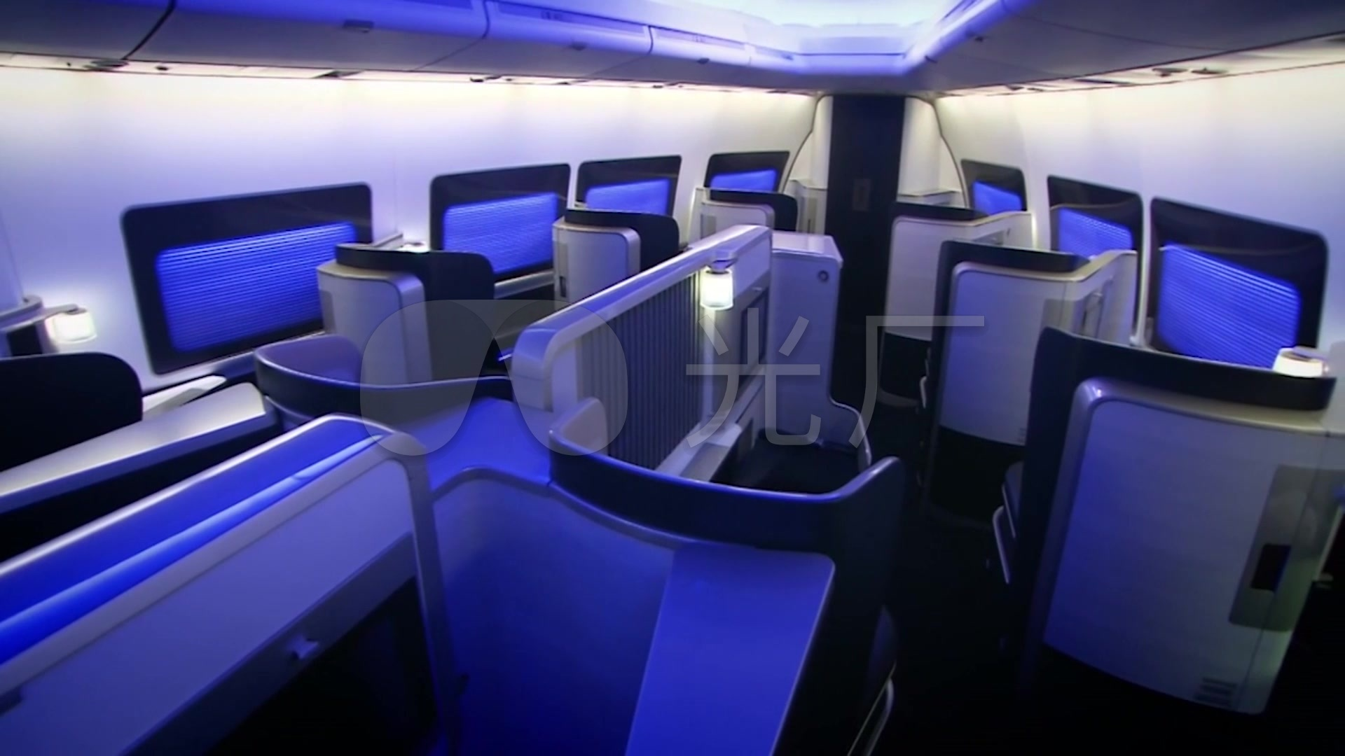 飞机民航舱内景内部展示_照片商务头等舱_19客机v飞机步奏图片