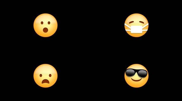 57个emoji高清_1920X1080_素材表情图片下图片包视频累表情文字动画图片