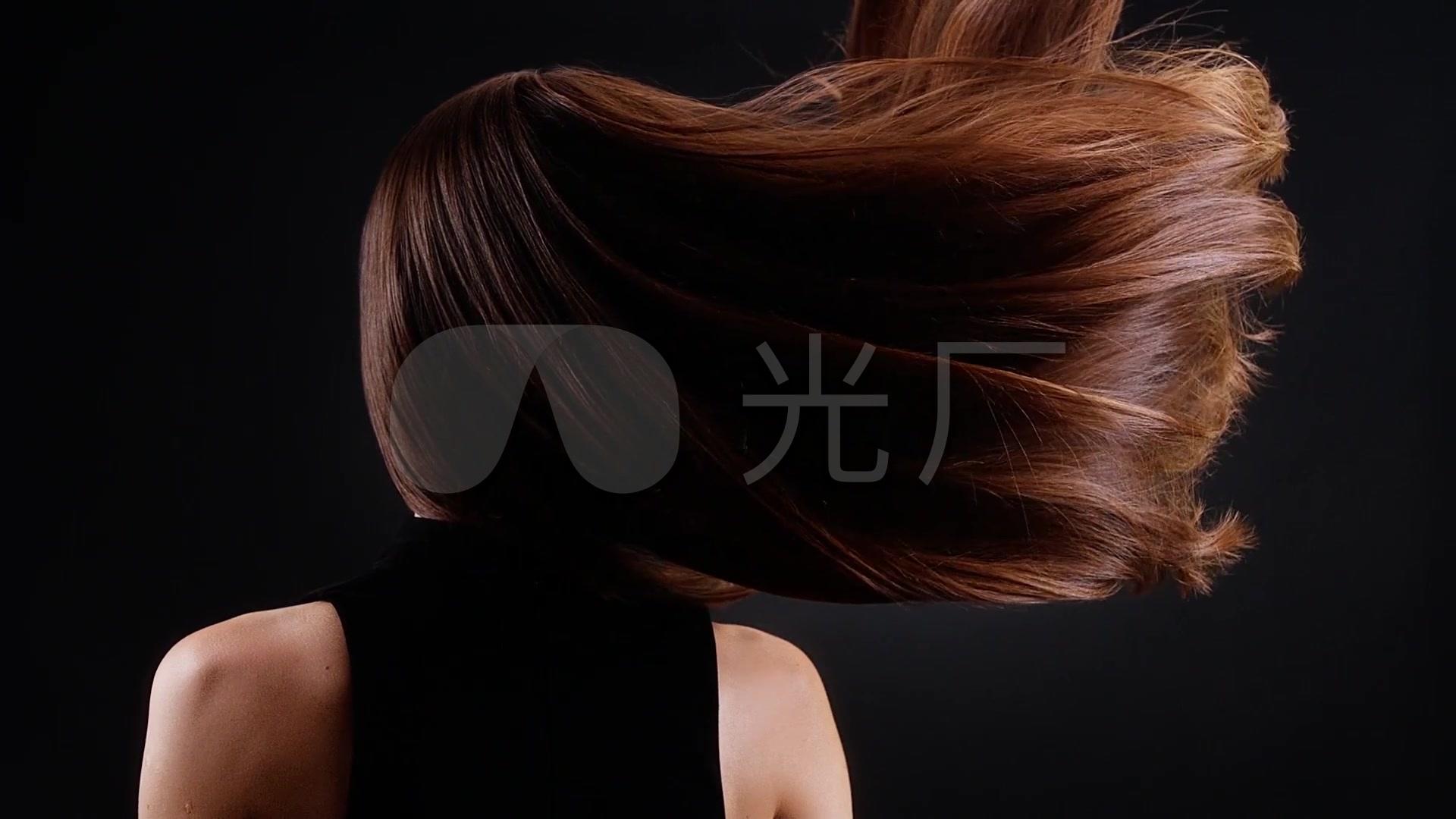 美女模特头发发丝秀发总裁与美女张铁根a发丝秀发_1920X1080_图片