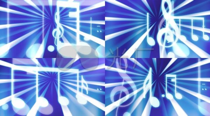 音乐音符五线谱