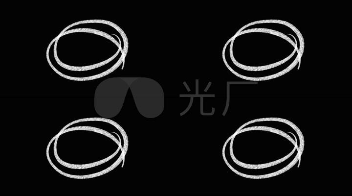 手绘圈圈圆圈对话框文本框文字框动态圆圈视频 【声明】vj师网所有