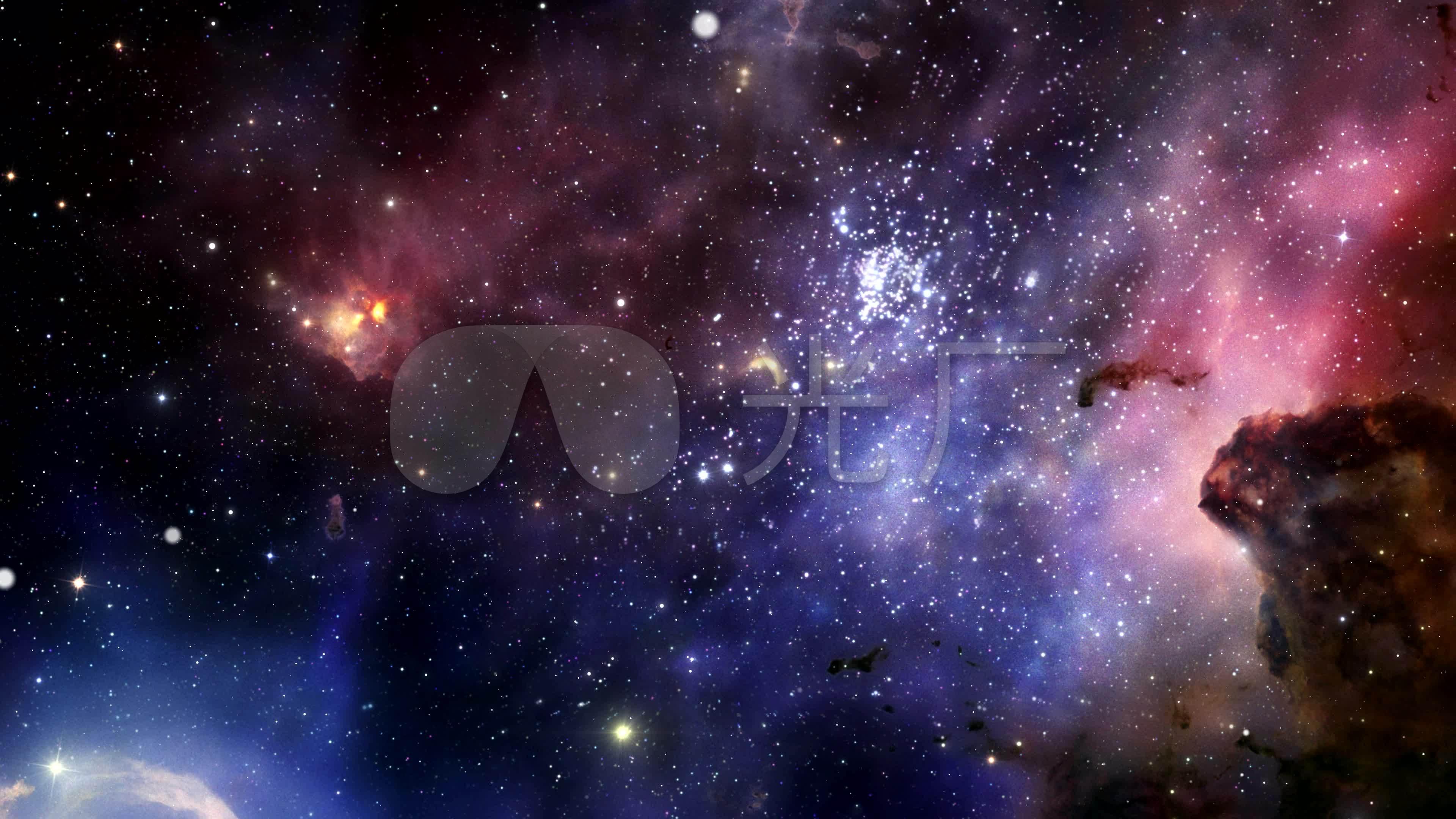 星空视频壁纸_4k超高清宇宙星空视频背景_3840x2160_高清视频素材