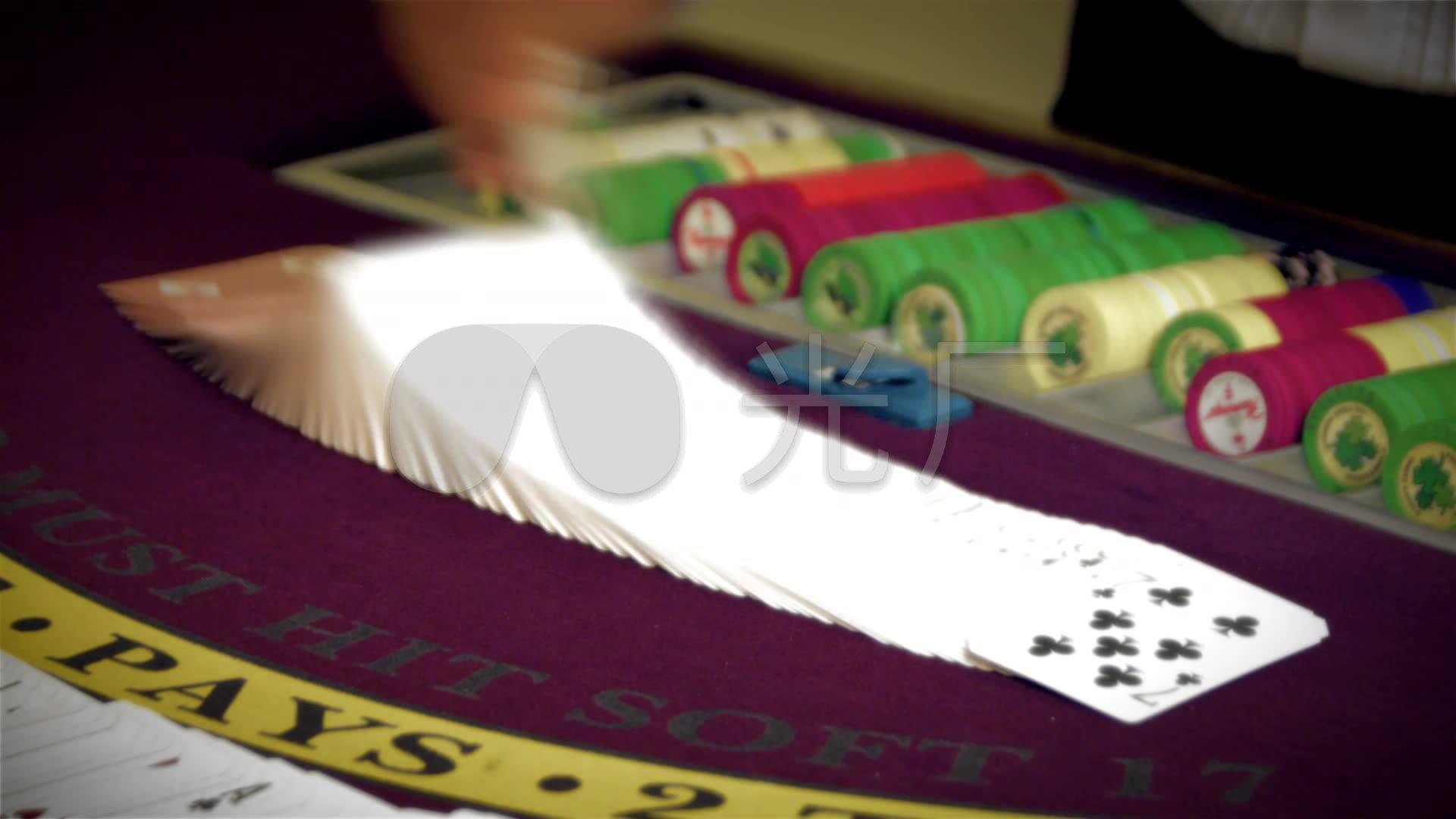 方法荷官林业上洗扑克牌技巧教程慢动作_192绘制赌桌地形图操作赌场图片