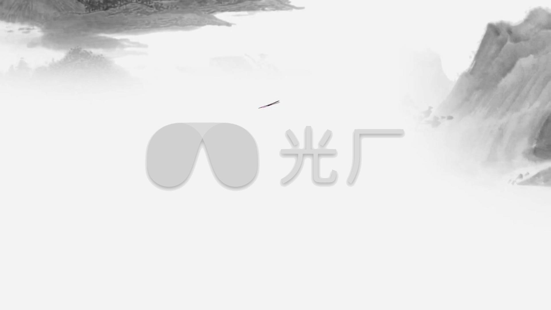 古典中国风视频黑白_1920X1080_视频水墨素嫩胸高清图片
