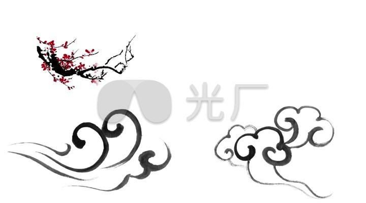 梅花logo矢量图