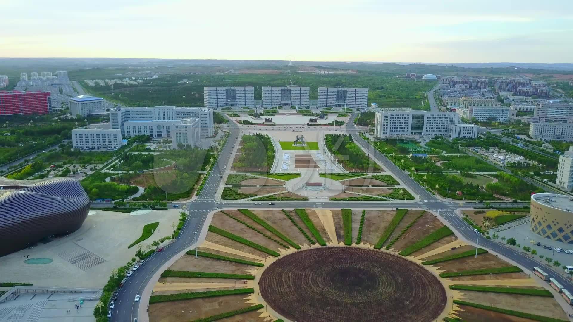 内蒙古 鄂尔多斯 康巴什新区 广场