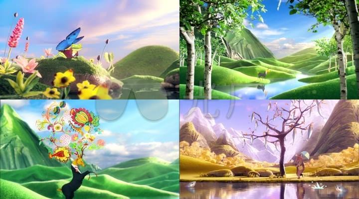 【卡通】森林里的动物