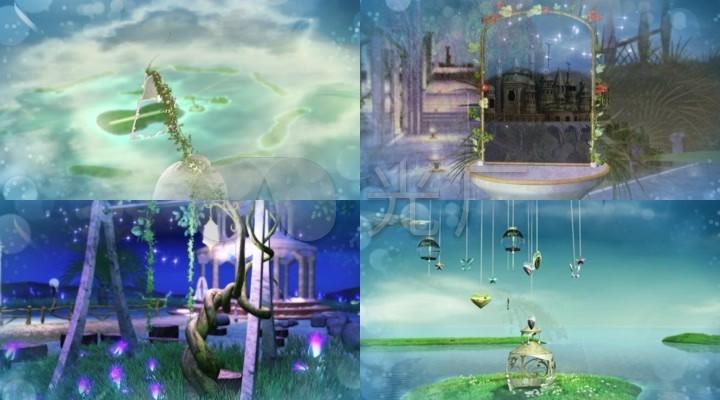 魔法城堡tfboy配乐成品歌曲舞台背景