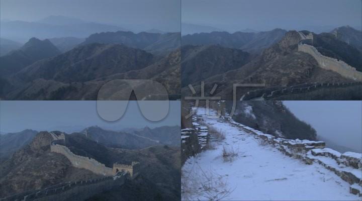 冬季长城实拍