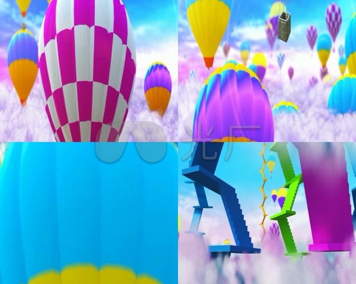 芽芽的儿歌_led视频背景素