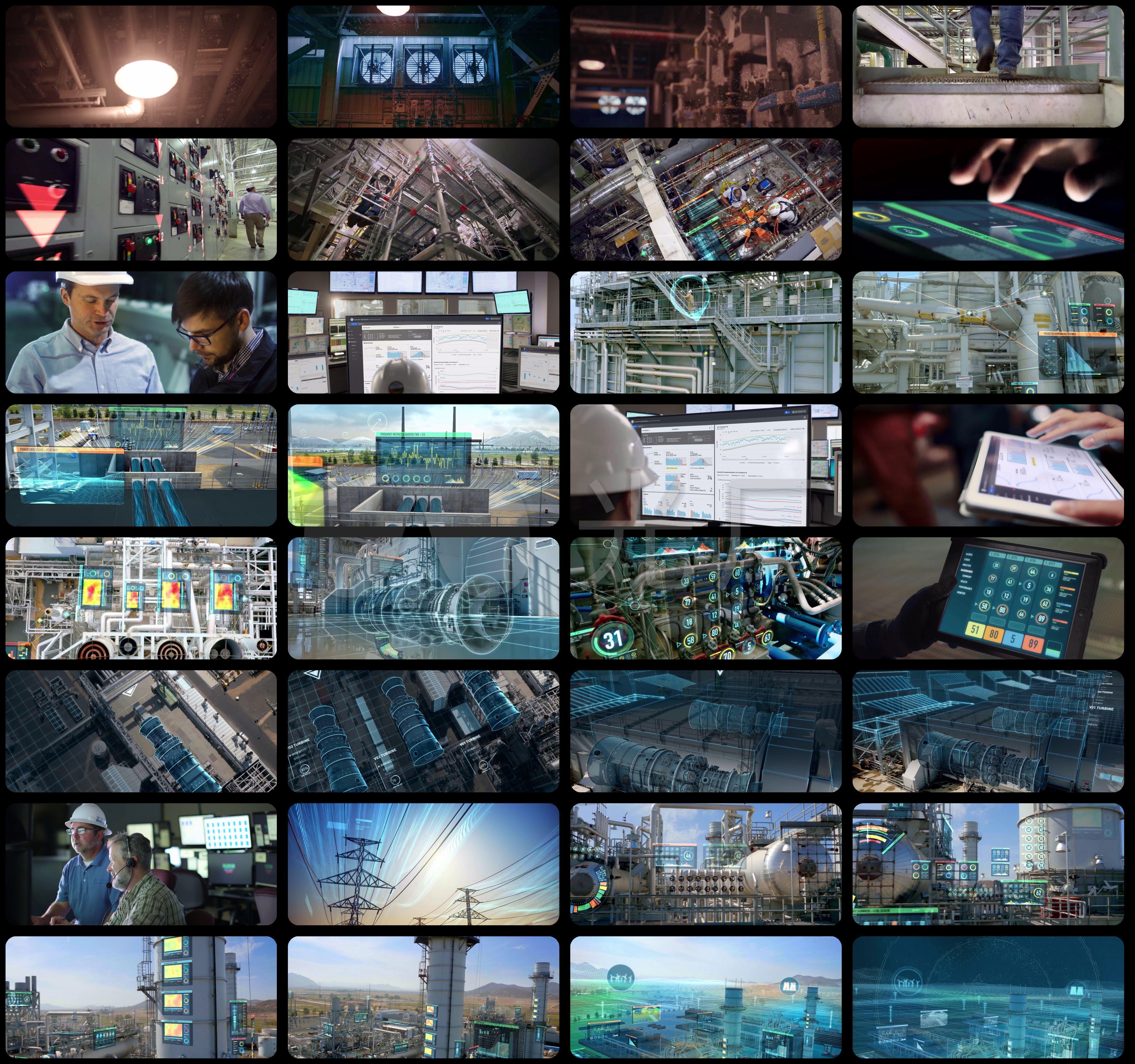 工业4.0-数字电站-发电设备-电厂