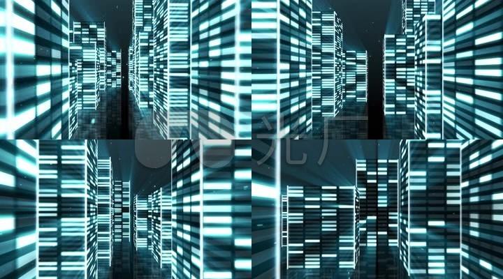 蓝色楼体光(6)