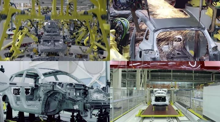 (精品)智能自动化汽车生产制造大型工厂