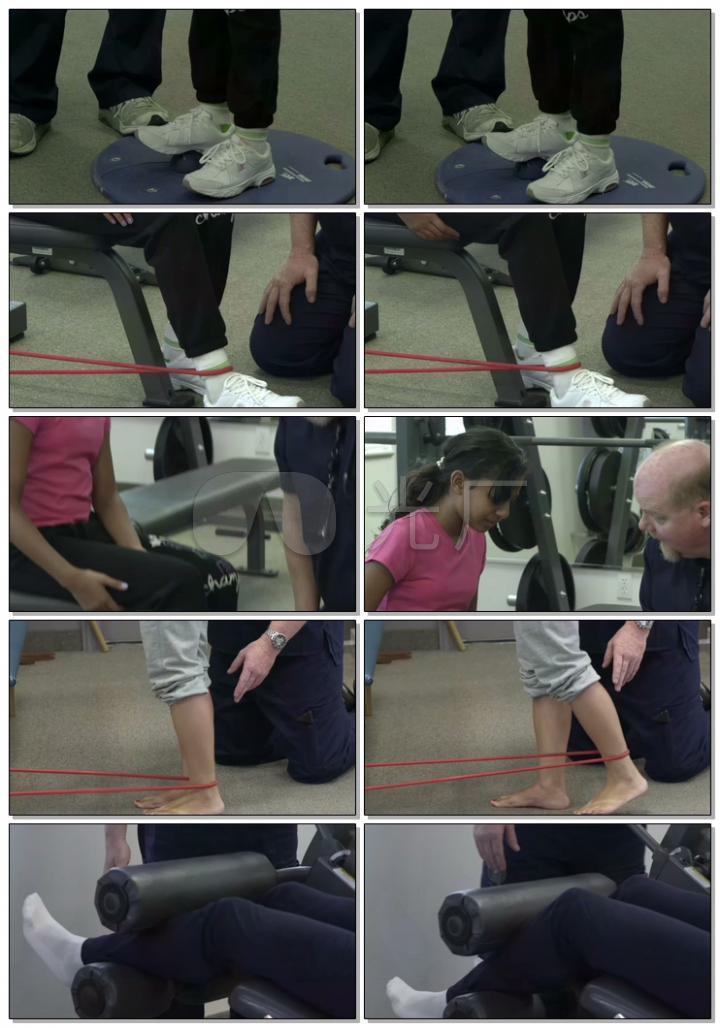 医学医疗康复锻炼康复训练4K