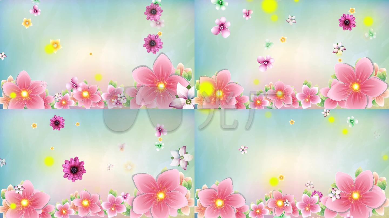 春暖花开花瓣雨