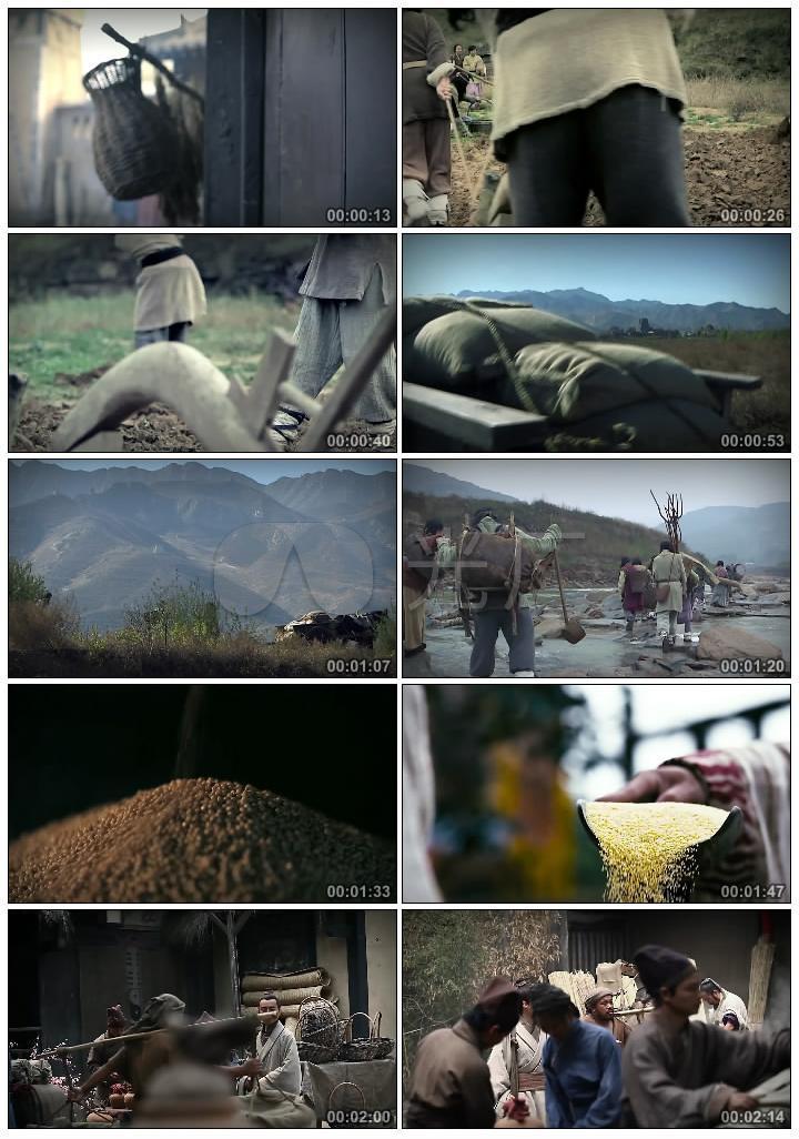 古代人农耕生活