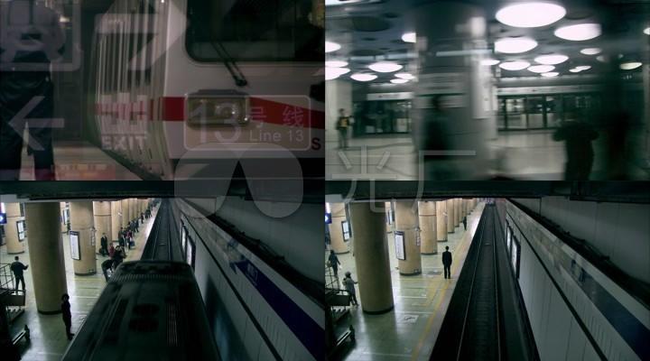 A004北京地铁轨道交通轨道列车