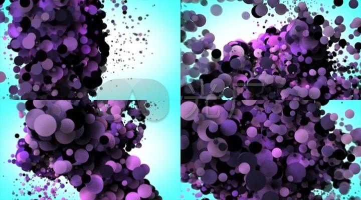 动感粒子球