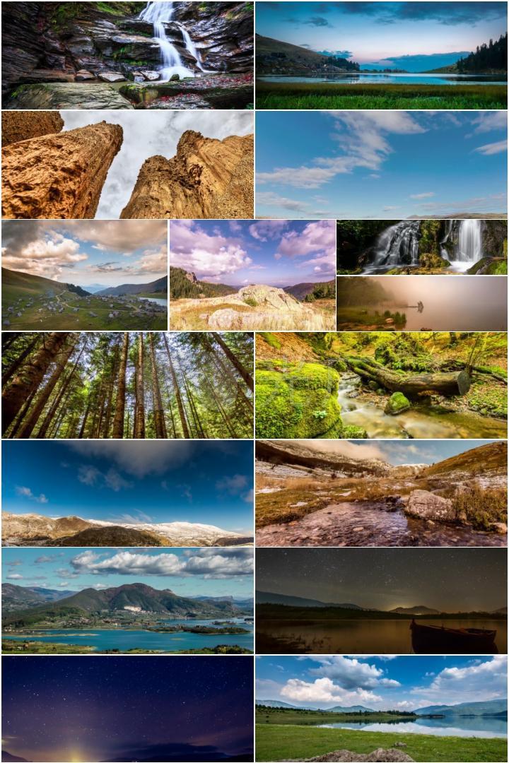 4k波斯尼亚的景观