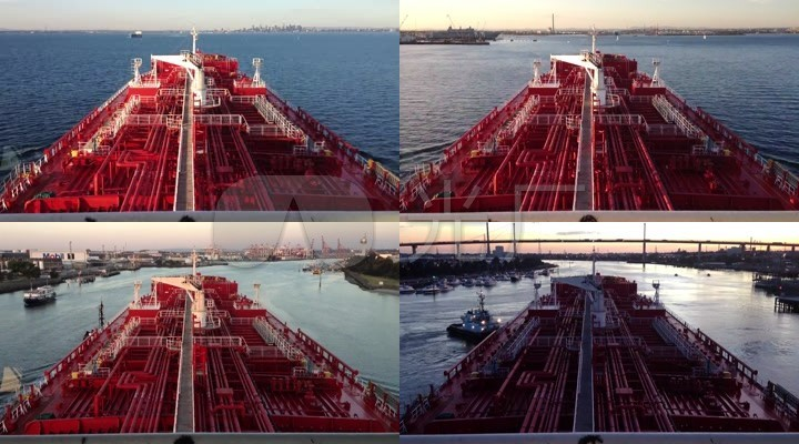 运输港口码头货轮