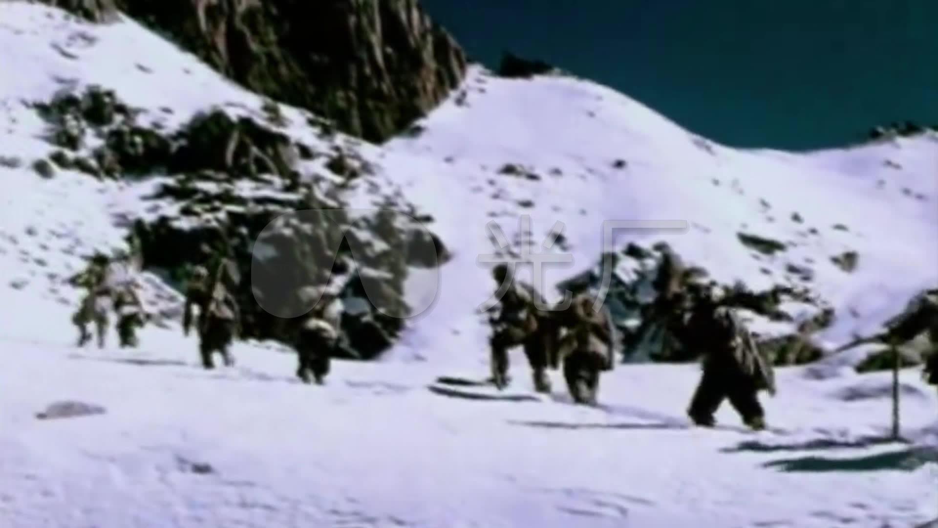 红歌素材过视频_1920X1080_雪山学堂红军下视频高清诸葛图片