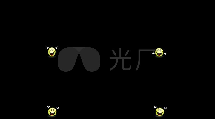 视频emoji素材礼炮动画表情02_1920X1080_高卡通放表情包动态信微图片