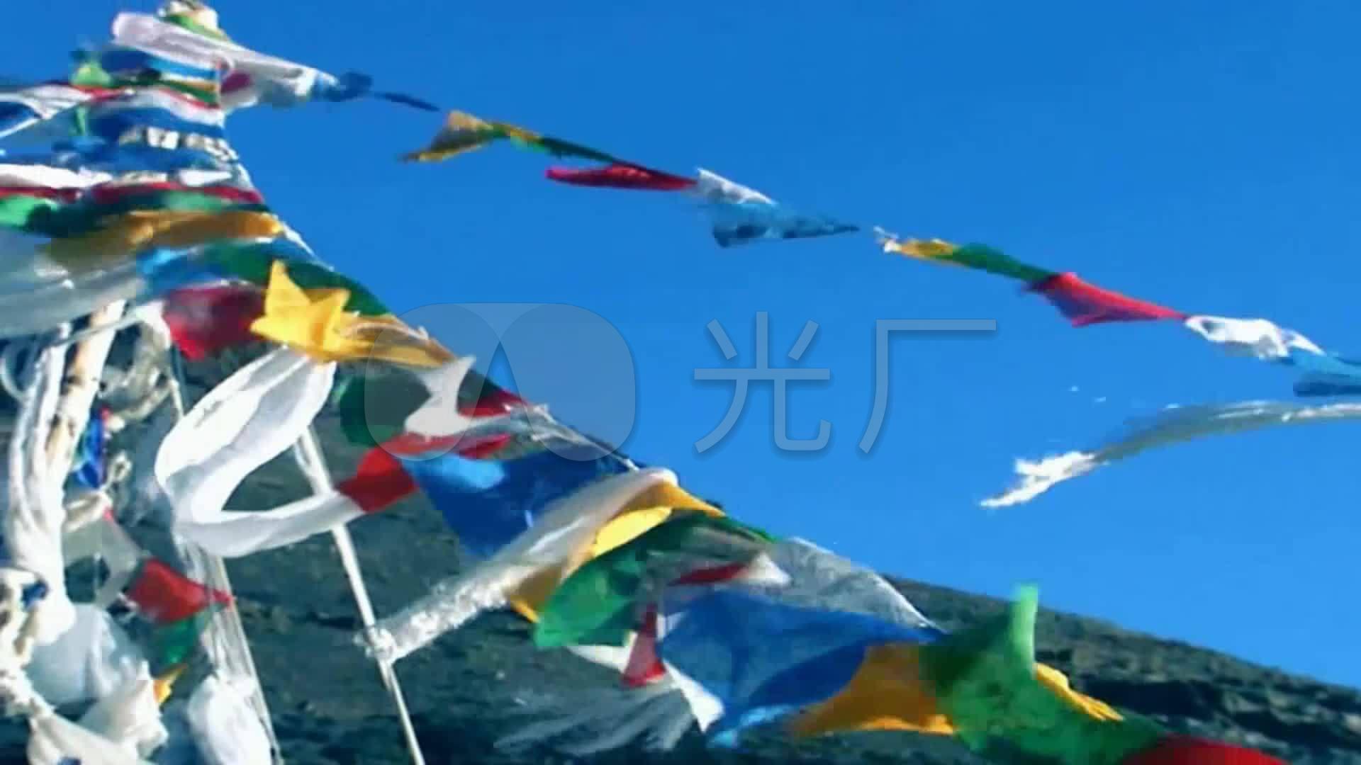 藏族舞蹈视频谣LED视频吉祥_1920X1080_高跳打6成品图片