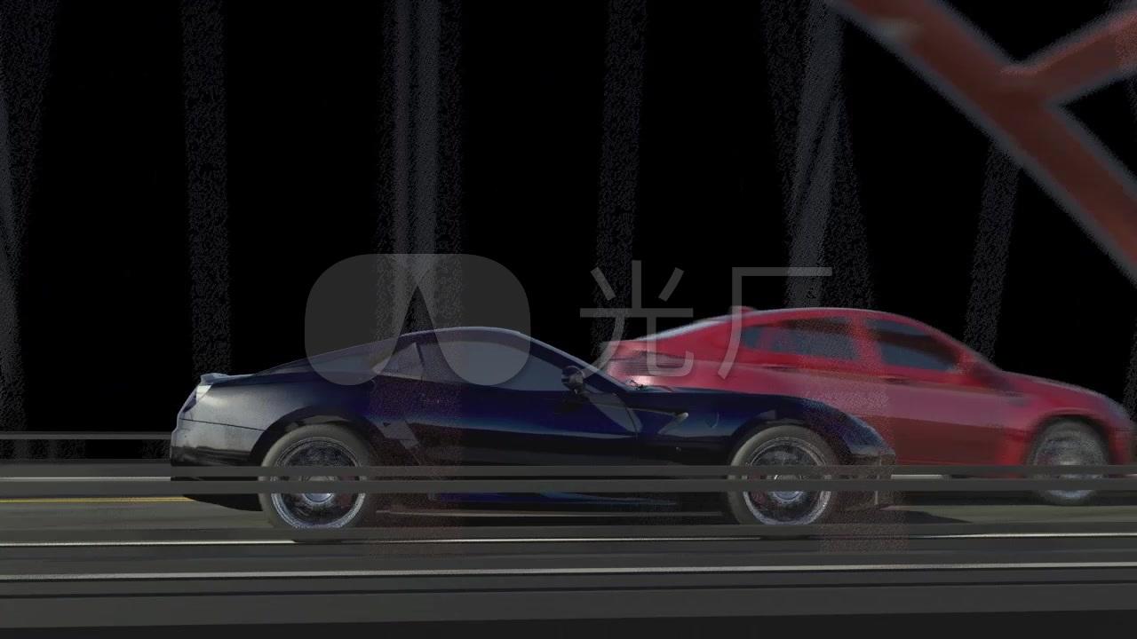 视频编辑相册_1280X720_跑车高清素材下载(疾驰视频视频图片