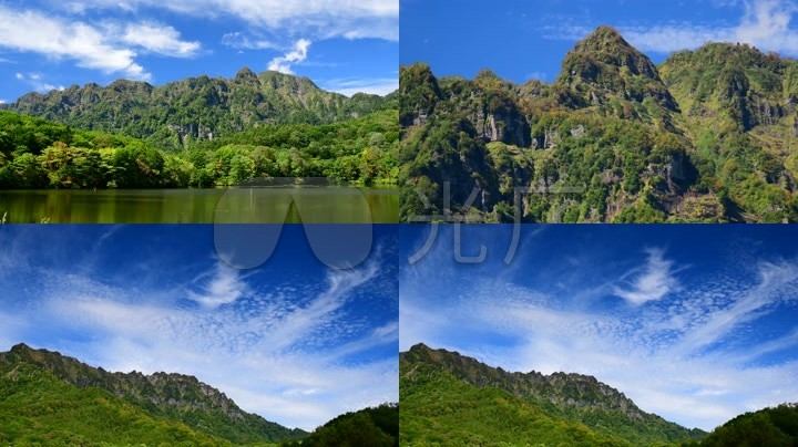 极品4k大自然山水风景