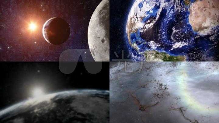 地球宇宙星空大气震撼