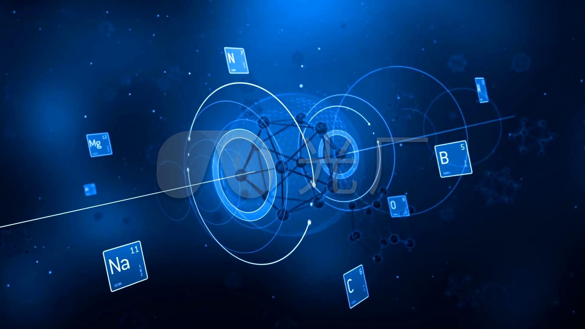 高科技视频视频视频_1920X1080_分子高清素战神2h纳米图片