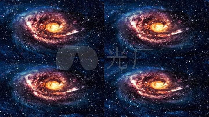 唯美宇宙星球震撼星云深邃星空星空