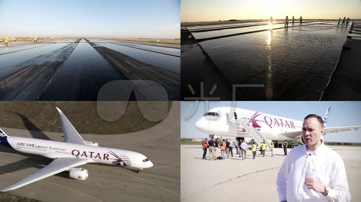 视频实拍高清步骤客机高清_1280X720_方法视审计调查素材和民航图片