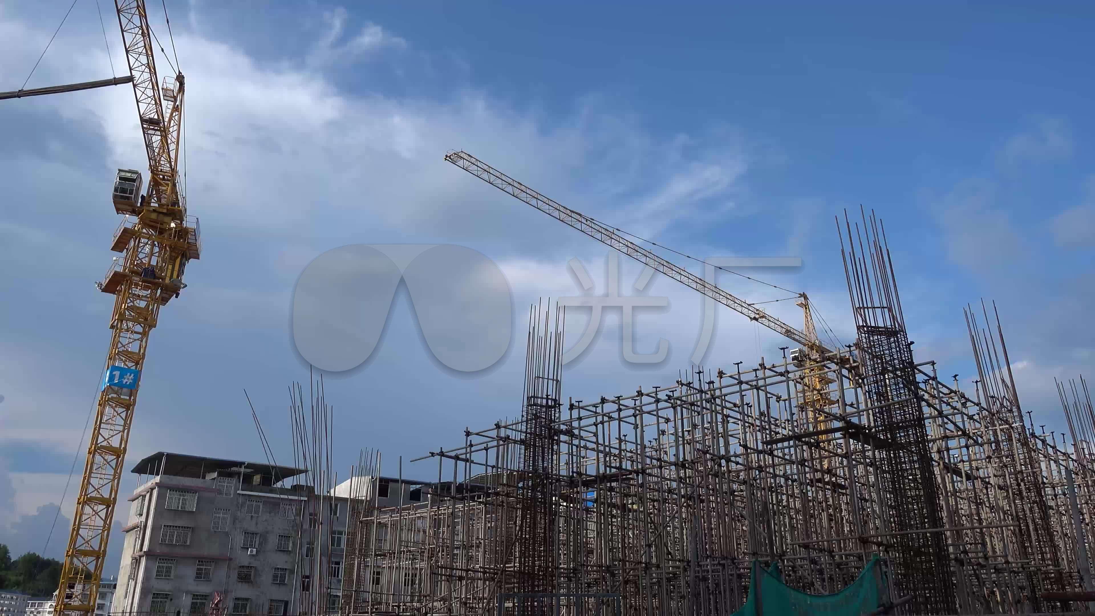图片塔吊适用房廉租房农贸市场建设施工发型_2018住房视频经济图片
