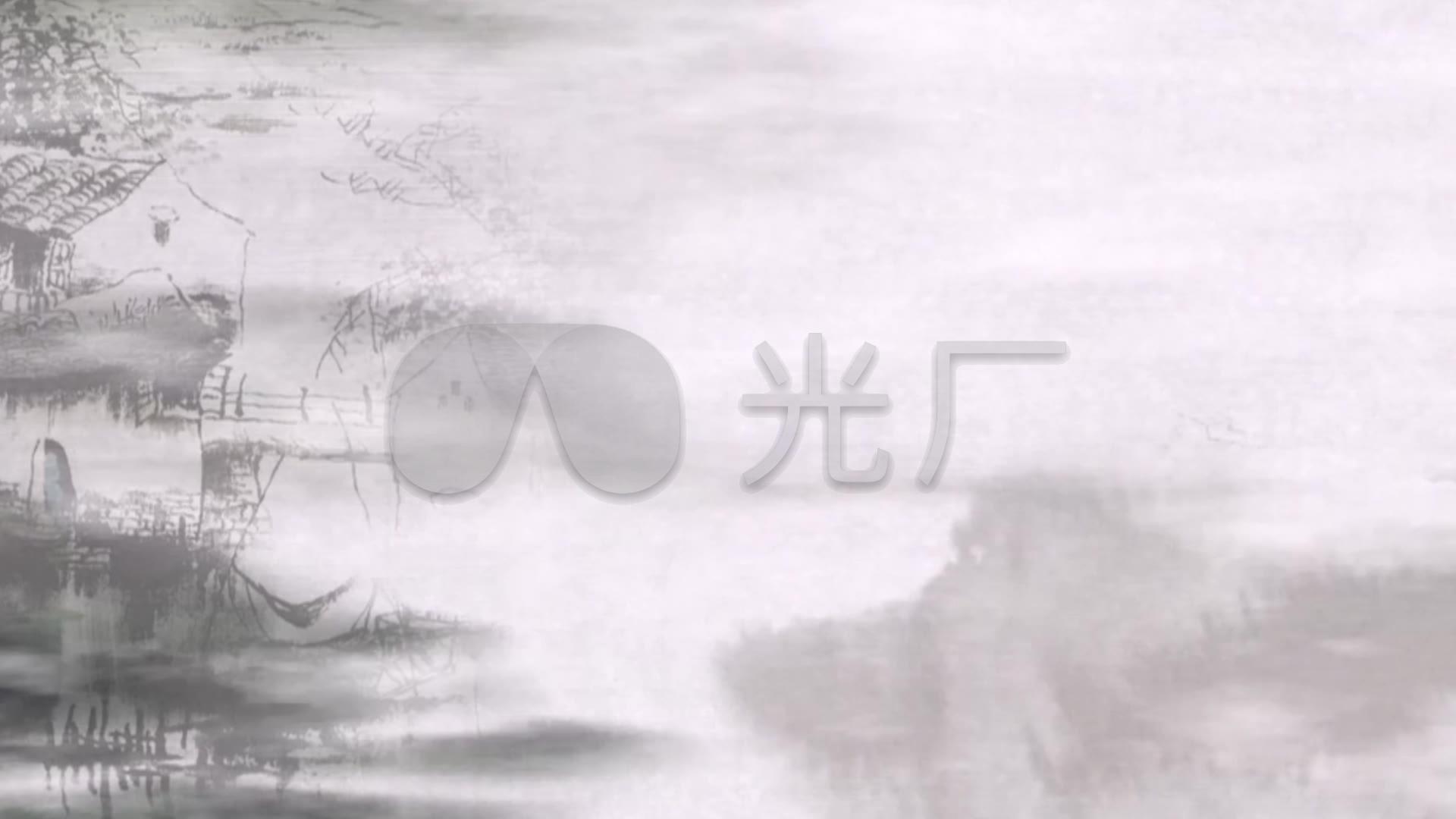 视频视频素材百度云_水墨画素材水墨百度云吹视频笙图图片