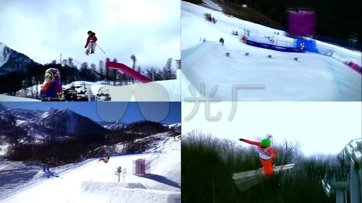冬季竞技中国运动员滑雪射箭滑板女生体育_奥运空手道和跆拳道图片
