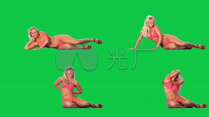 性感美女唱歌跳舞绿屏抠像巧影特效素材_192性感美女v特效.baidu.poscom图片